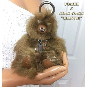 Coach Star Wars Chewbacca Bear Bag Backpack Charm